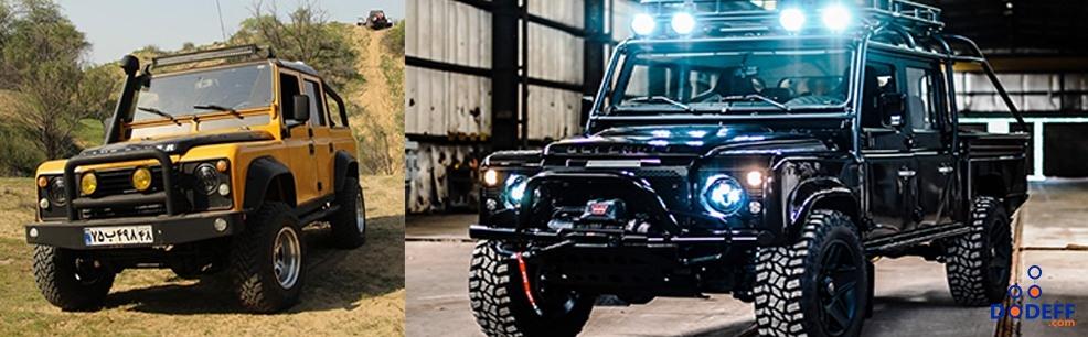 پاترول بهتر است یا پاژن ؟ مقایسه جامع دو خودرو برای آفرود